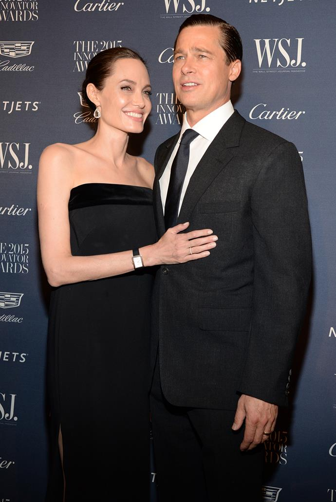 At the WSJ Magazine Innovator Awards last year, the couple cosied up to each other on the red carpet.