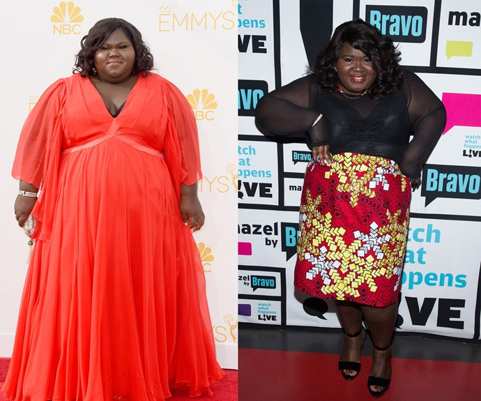 The Oscar nominated *Precious* actress Gabourey Sidibe who weighed 350 pounds when she starred in the film, has shed an incredible 50 pounds.