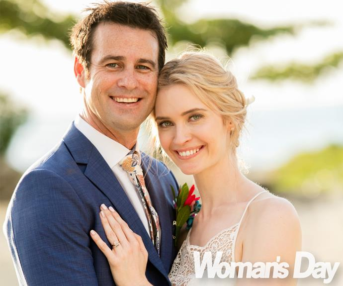 Long-time lovebirds Siobhan Marshall and Millen Baird tied the knot in a gorgeous beachside ceremony in Fiji.