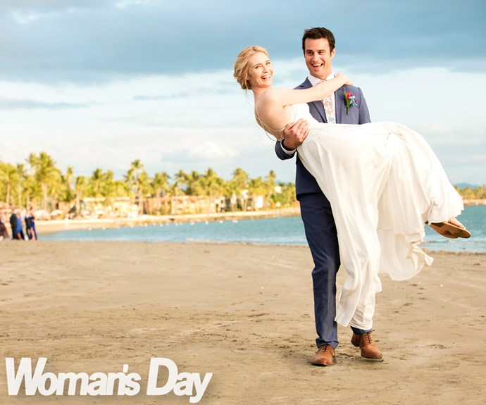 After all the ups and downs, it was important to the couple to have their special day just how they wanted it.
