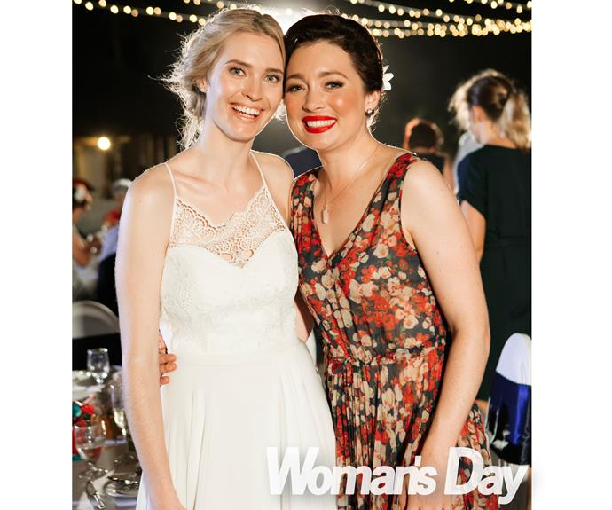 Siobhan's close pal and fellow Kiwi actress Antonia Prebble was one of the guests at the wedding.