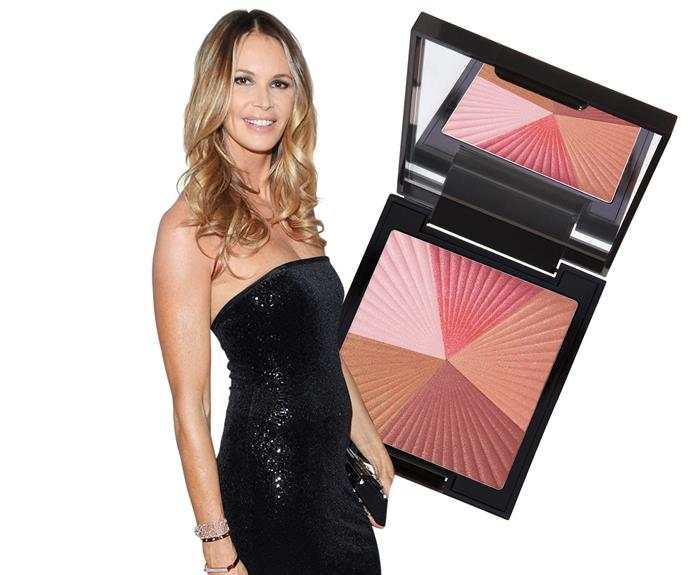 "**6. Elle MacPherson** ""Draw attention to your cheekbones,"" advises the supermodel. ""It gives you a wide-eyed, youthful look without having to put on a lot of make-up.""  **Try:** Natio Mineral Blush & Bronze Palette, $23.50."