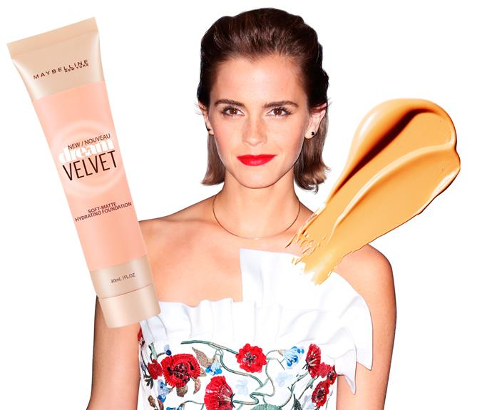 "**7. Emma Watson** The *Harry Potter* star has a trick for mishaps. ""If you make a mistake with your mascara, dip a cotton ball in foundation to remove and conceal at the same time.""  **Try:** Maybelline New York Dream Velvet Foundation,  $24.99."