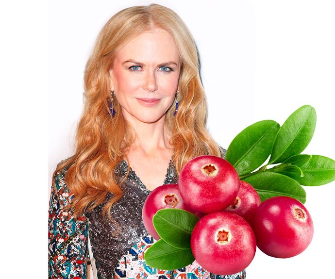 "**8. Nicole Kidman** ""If you've got red hair, try washing it in cranberry juice,"" tells the Aussie actress. ""It can work wonders to brighten it."""