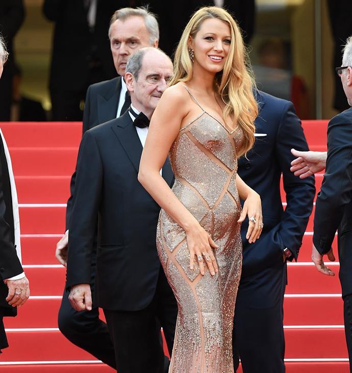 Blake looking radiant in Cannes.