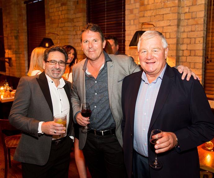 Kevin Stone, Graham Burnett, Ian Middleton. Photo by Carmen Bird