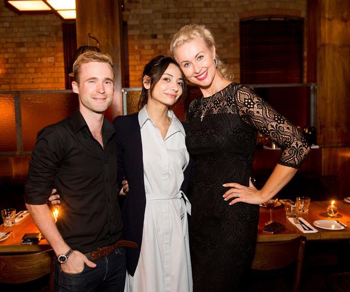 Joshua Taylor, Sara Valentina, Vanessa Green. Photo by Carmen Bird