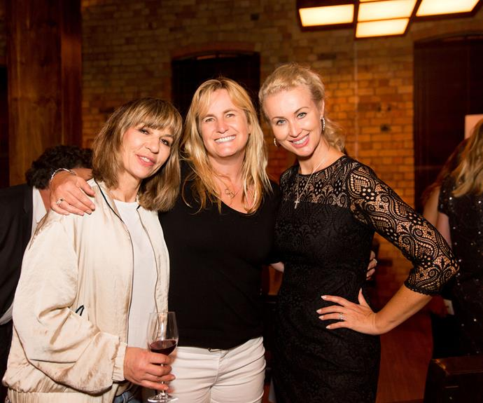 Franceska Maisic, Rebecca Purdy, Vanessa Green. Photo by Carmen Bird