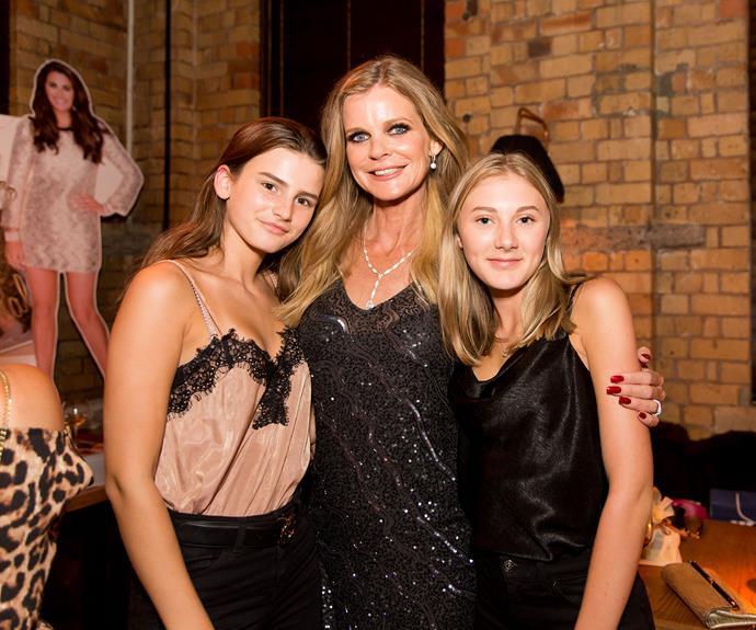 Ella Sloane, Julia Sloane, Chelsea Goodale. Photo by Carmen Bird