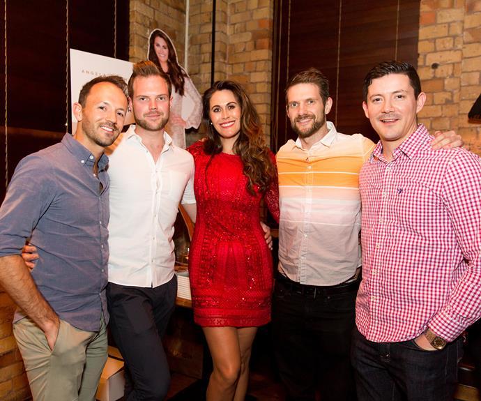 Adam Hinchcliffe, Aaron Pearce, Angela Stone, Paul Pooke, Aaronn Garza. Photo by Carmen Bird