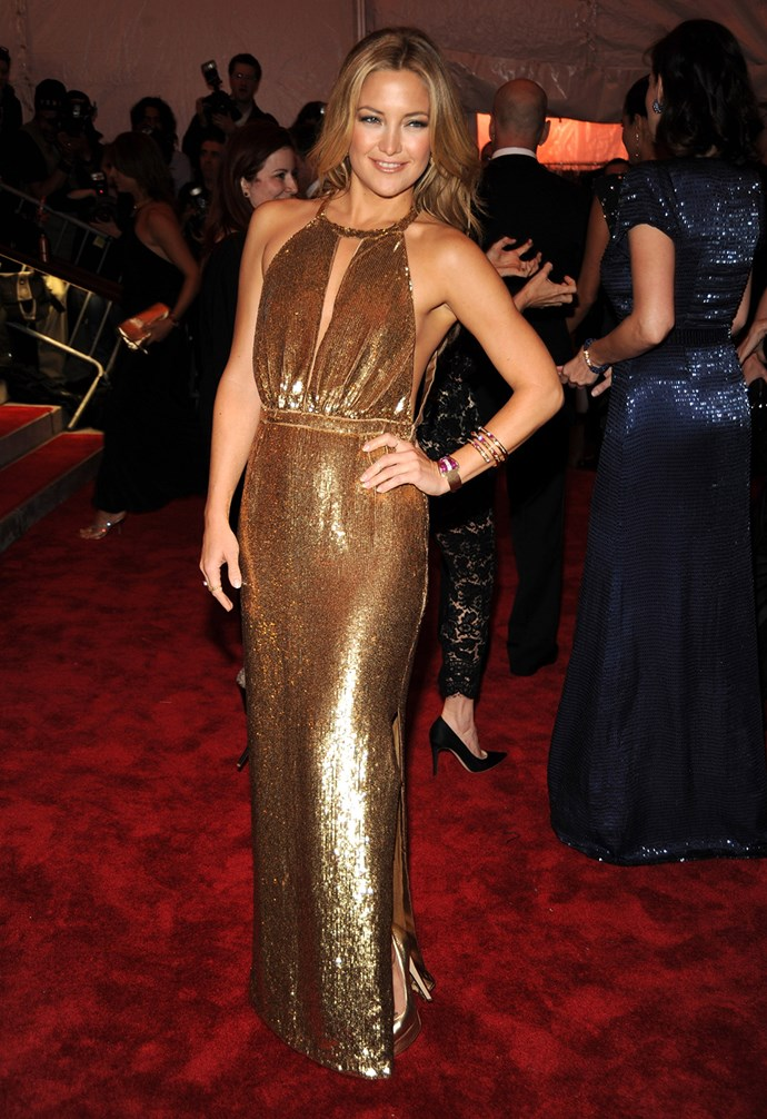 In 2009 Kate proved that all that glitters is gold