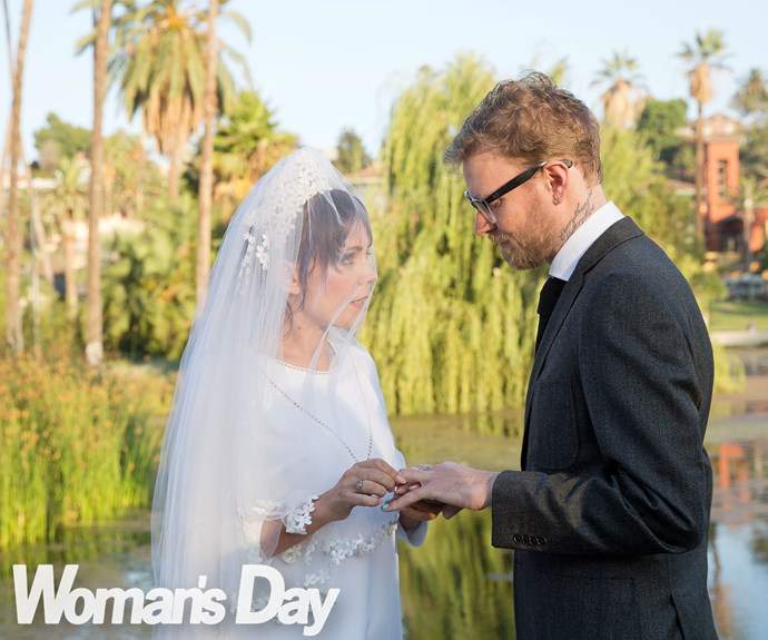 Just eight close friends are there to witness the ceremony, but former *Shortland Street* star Kate and David, 37, who is the managing director of worldwide media company VICE, wouldn't have it any other way.