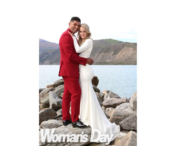 A match made in heaven: Stunning Alexandra provides the perfect backdrop for the happy couple.