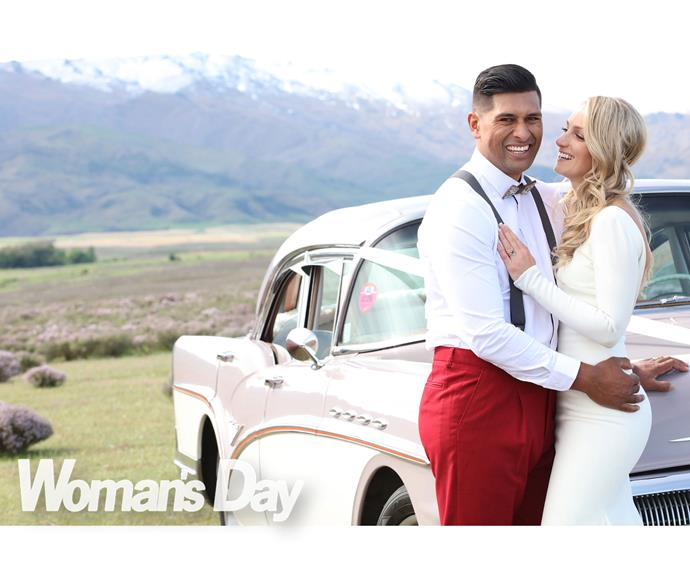 """Friends describe their romance as """"a replay of *West Side Story*"""", such was the instant chemistry between the handsome Maori actor and the athletic blonde of Dutch descent."""