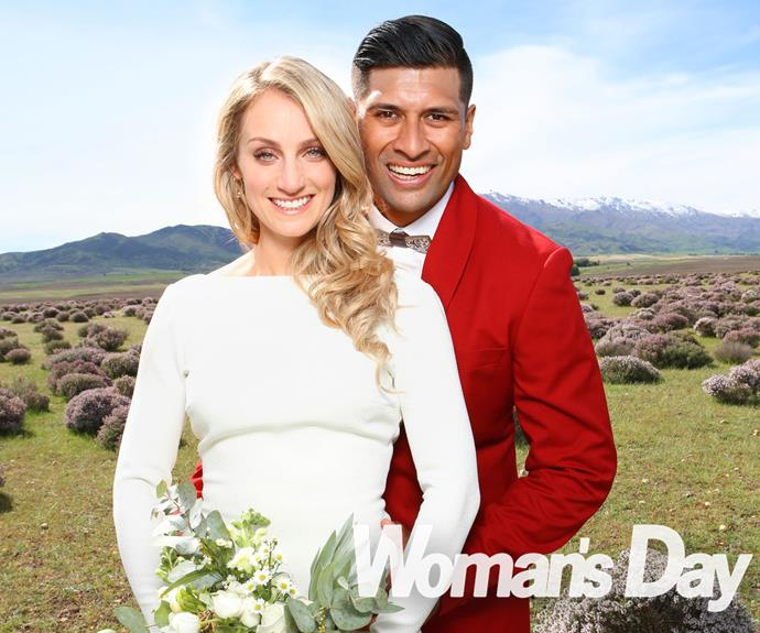 Te Kohe Tuhaka and Larissa Dyke tied the knot in a picturesque ceremony in the small, Central Otago town of Alexandra.