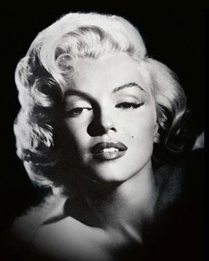 2 In second place, movie star, Marilyn Monroe.