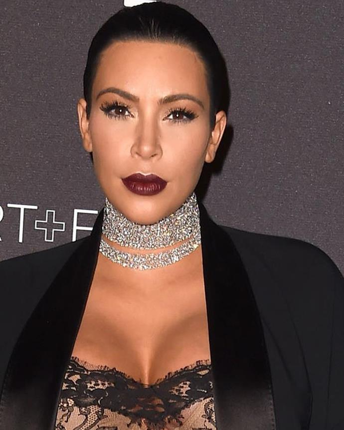 3 Reality television star, Kim Kardashian takes out third position.