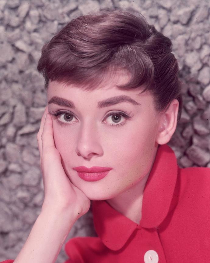 4 Classic beauty, Audrey Hepburn in fourth place.