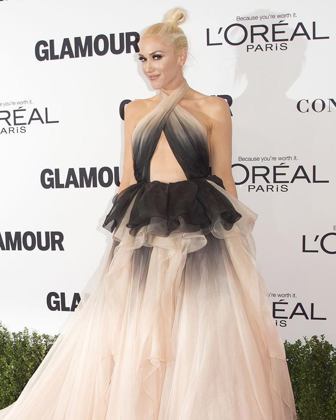9 Pop powerhouse and fashion designer, Gwen Stefani.
