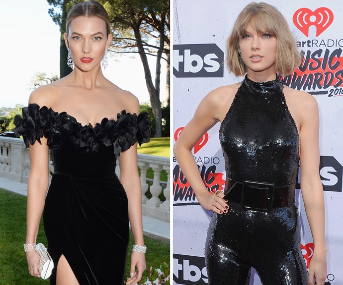 BFFs Karlie Kloss and Taylor Swift look so similar!