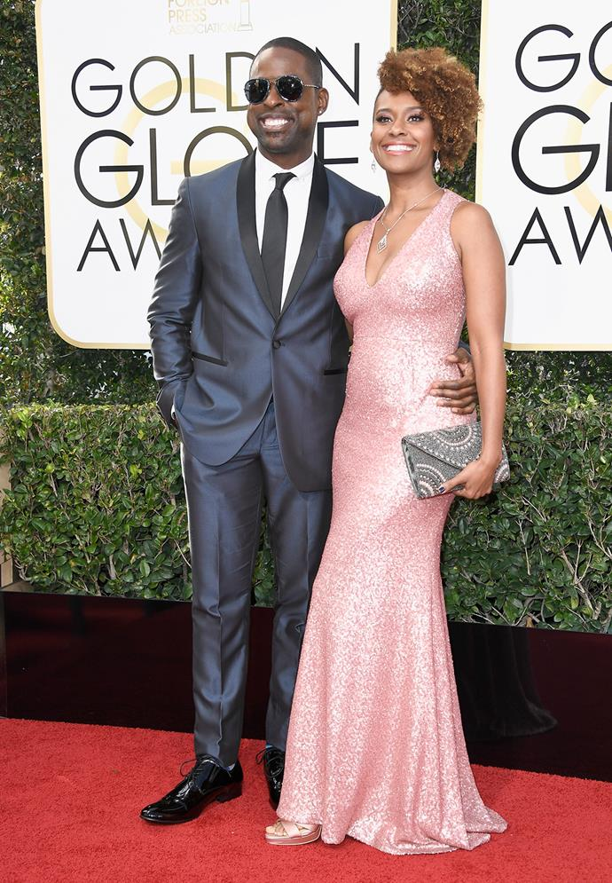 *This Is Us* star Sterling K. Brown and wife Ryan Michelle Bathe
