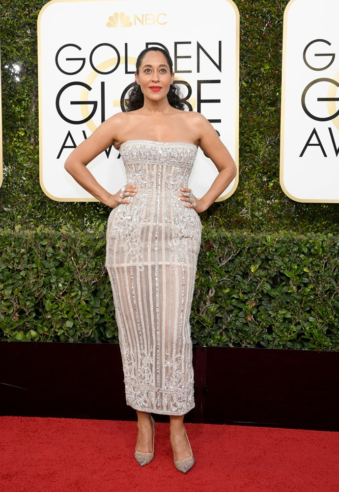Tracee Ellis Ross looked incredible in Zuhair Murad at the 2017 awards.