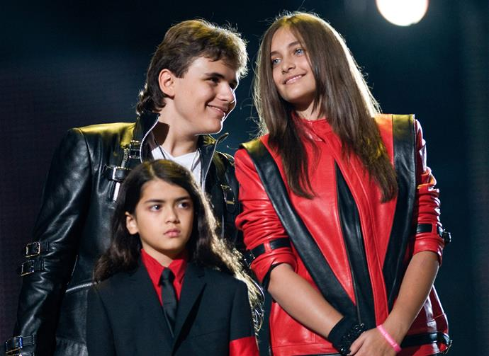 Paris, pictured with her brothers Prince and Blanket, has voiced her disapproval of the show on Twitter.