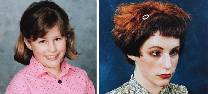 Aged nine, she had thick hair, and at 16, she was a hair model.