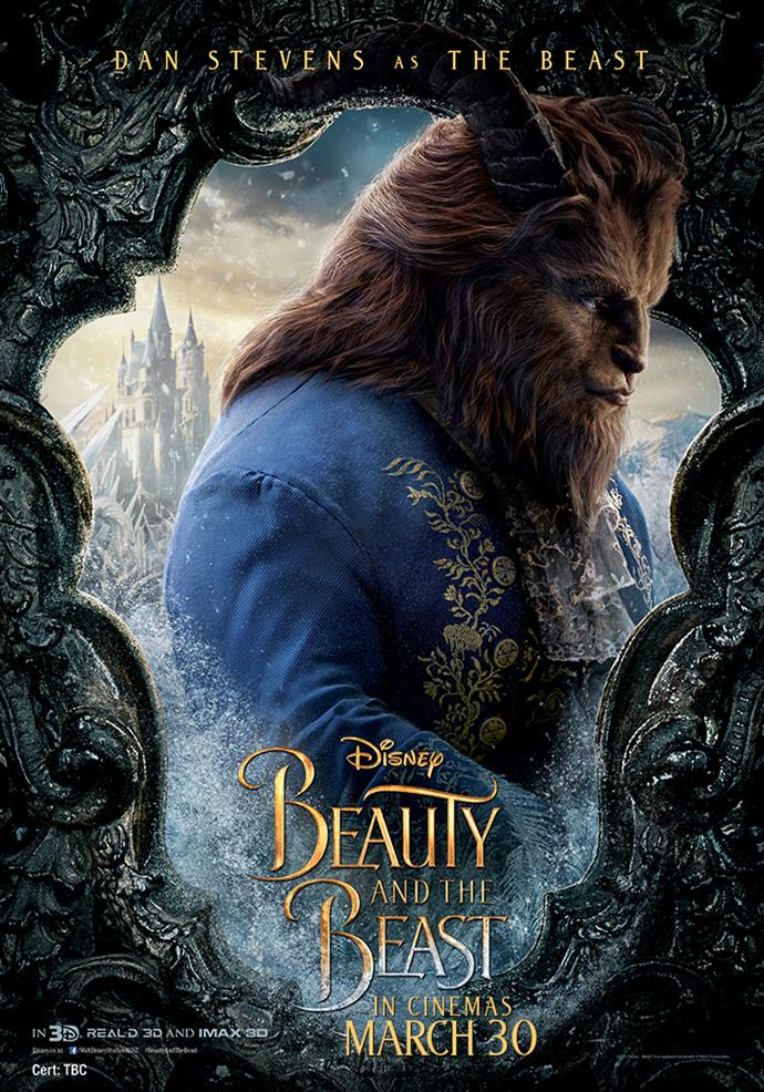 **Dan Stevens as The Beast** He is trapped in the castle until he can learn to love another and be worthy of their love in return, thus breaking the curse. When the Beast catches Maurice trespassing and takes him prisoner, his beautiful and headstrong daughter Belle takes his place, and the Beast develops feelings for her, slowly beginning to come back to life.