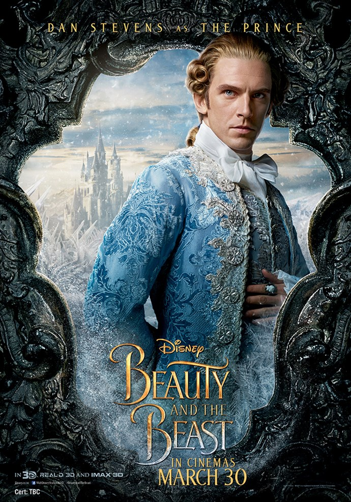 **Dan Stevens as The Prince** Once a dashing young Prince who had grown to become cruel and self-absorbed before being transformed by an enchantress into a hideous Beast