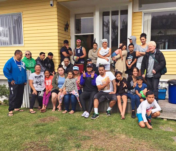 Many of Allan's whanau were raised in the same home he's lived in for 46 years.