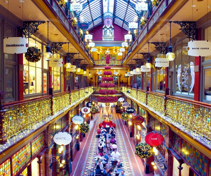 **The Strand Arcade** For browsing the shops in a more traditional setting, head to the historical Strand Arcade, an ornate building designed in the 1800's. With over 75 stores, pencil in an afternoon for browsing the shops.