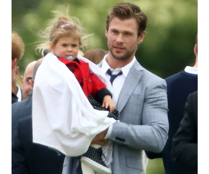 **India Rose Hemsworth**  As one of Chris Hemsworth and Elsa Pataky's three children, four-year-old India is surely Australian (acting) royalty.