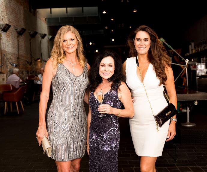 Julia Sloane, Anne Batley Burton and Angela Stone.