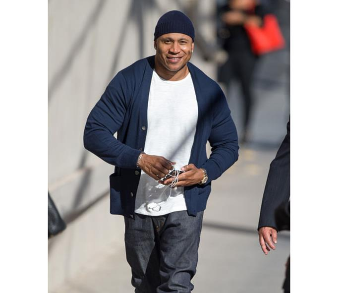A surprise home visit from LL Cool J proved Nadine had made it in the States.