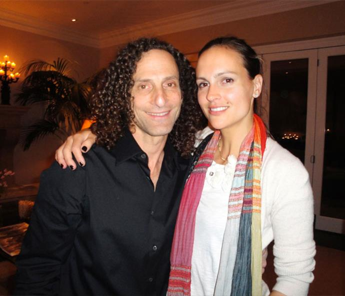 Rubbing shoulders with sax legend Kenny G.