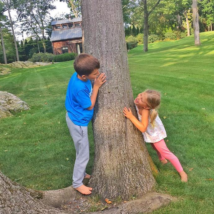 **Vivien Brady**  Gisele Bundchen and Tom Brady's four-year-old daughter Vivien would be the perfect playmate for Prince George! Here, the supermodel shares a sweet snap of Vivien playing with her older brother Benjamin.