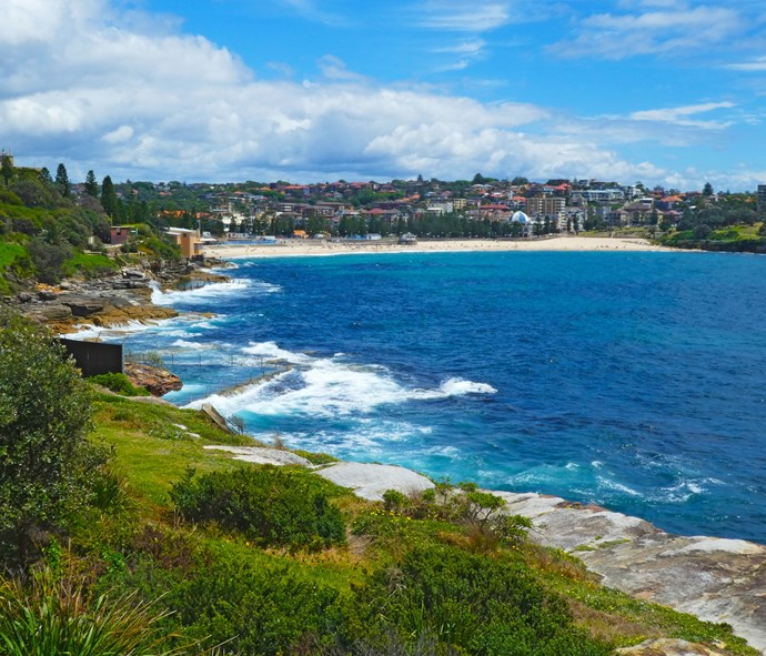 Stretch your legs from Coogee to Maroubra and your tum with fish and chips on arrival.