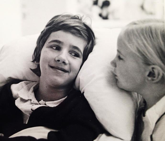 Annessa in hospital