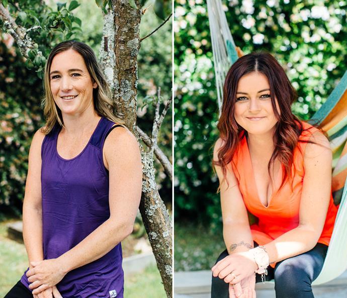 Kristie Purton and Nikki Reynolds-Wilson