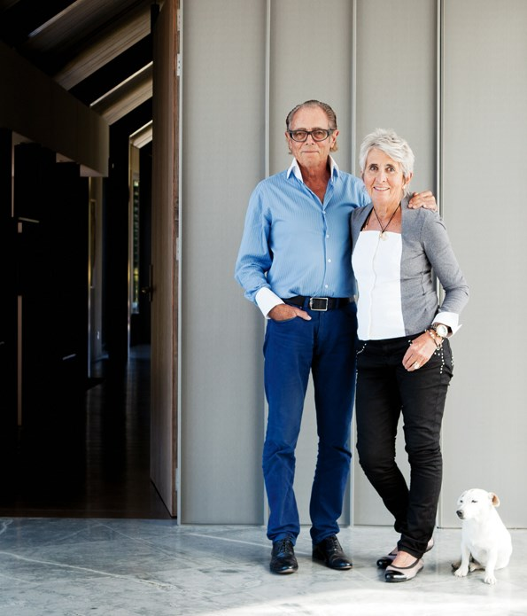 Sir Michael and Lady Christine still find it hard to believe how they've built their fortune over their years together in business.
