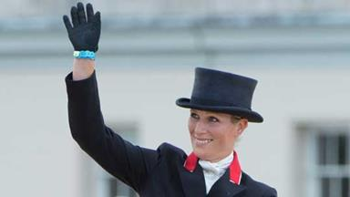 A royal affair for Zara Phillips' Olympic debut