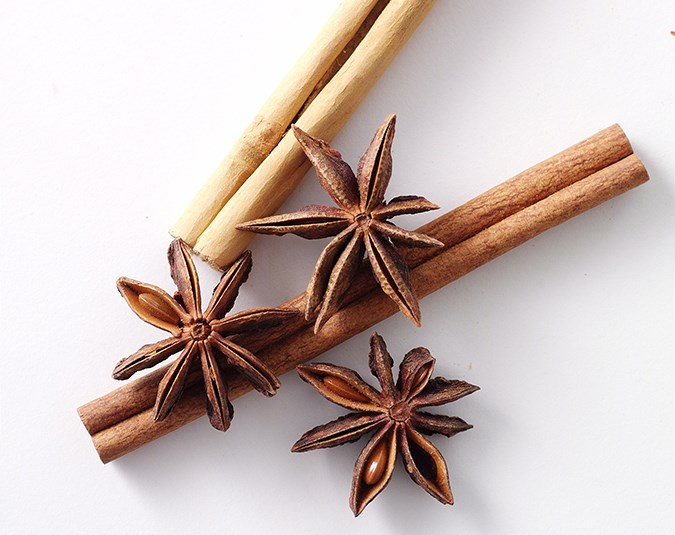 Use cinnamon, nutmeg and cardamom. Adding these spices to your cooking will not only sweeten your food naturally, but they can also help to balance blood-sugar levels and reduce sugar cravings.  Image: Sarah Callister/ bauersyndication.com.au