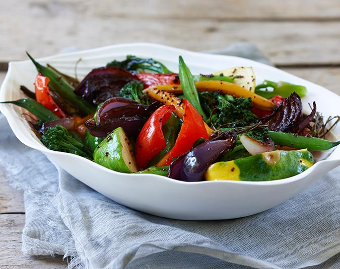 1. Eat a Mediterranean diet. Include plenty of fruit, and vegetables and limit saturated fats like red meat, cheese and butter.  Image: David Hahn/ bauersyndication.com.au