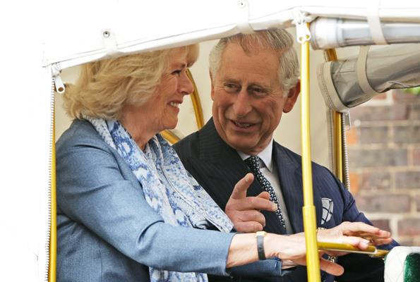 Charles loves that Camilla is always able to see the funny side of life.