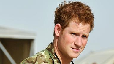 Prince Harry on the horror of war