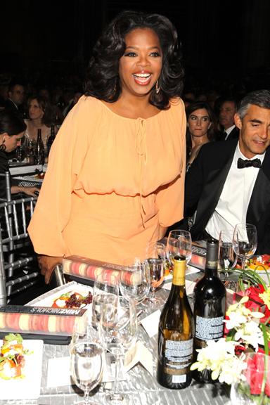 Oprah Winfrey surprises staff