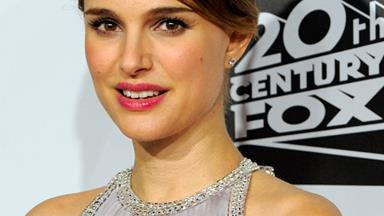 Natalie Portman worries about falling over on red carpet