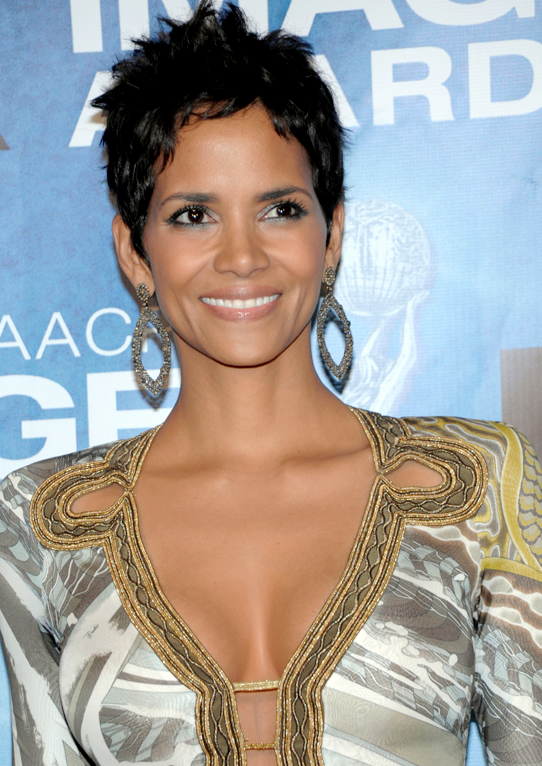 Halle Berry's anti-cellulite treatment is actually a well known good idea. She adds coffee grounds to her body wash in order to smooth the skin and increase blood flow using mild exfoliation combined with caffeine.