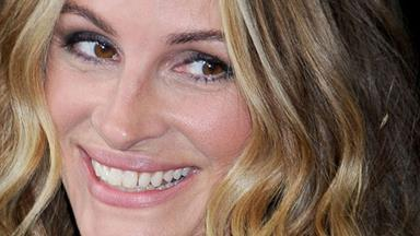 When is Julia Roberts not famous?